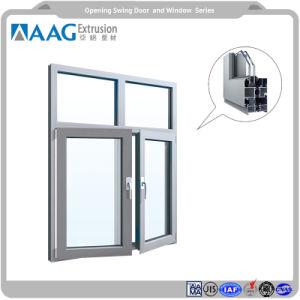 Finestra di alluminio di alluminio di profilo della parete divisoria del blocco per grafici visibile di alluminio 6000