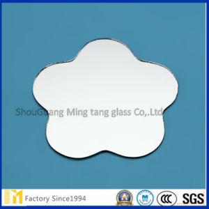 Rétroviseur arrière en vinyle de verre de sécurité pour porte-miroir coulissante / armoire