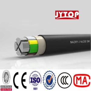 O cabo de alumínio Nayy Yavv Cabos com isolamento de PVC Alumínio termorresistente
