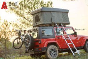 4WD tente de toit rigide camion voiture 2,3 tente sur le toit de l'échelle télescopique en aluminium pour le camping et les voyages