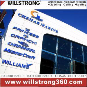 Aluminiumbeschichtung des Wand-Fassadenelement-zusammengesetzte Panel-PVDF