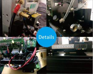 Mini corte por láser de las máquinas de fabricar ropa acrílico 600X400