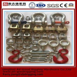 Venda a quente Barato preço bom Qualitygalvanized chineses aparelhamento, manilhas, Cabo Clip, o Tensor, ganchos