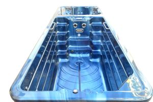 Endless Piscina com Jacuzzi SPA massagem nadar SPA