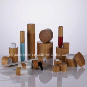 Tarro de crema de la serie de bambú frasco de loción para Cosmética Embalaje (PPC-BS-075)