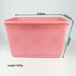 Caixa de injecção domésticos usados recipientes de plástico de Molde