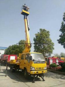 Isuzu 고도 운영 12-16 미터 머리 위 작동되는 트럭