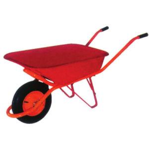 As ferramentas de exploração simples Tabuleiro de aço de construção Wheelbarrow para jardim
