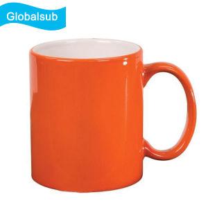De lege Mok van de Koffie van de Geschikt om gedrukt te worden Kleur Veranderende voor Sublimatie