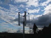 Turbine éolienne à axe vertical (EA-L-500)