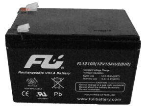 Свинцово-кислотный аккумулятор для использования солнечной энергии (12V10Ah)