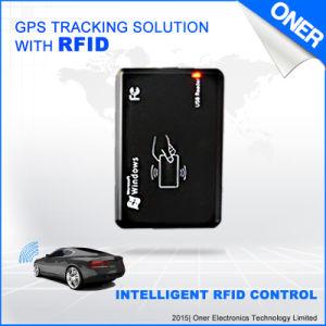 Com base RFID presenças Sistema de Rastreamento por GPS e detecção de identificação de impressões digitais