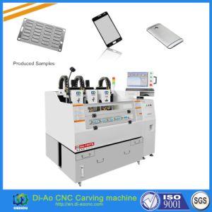 máquina de grabado automático de alta velocidad en la India para Tablet PC, iPad, el Banco de potencia de carga, PAL, cubierta de protección de teléfono móvil
