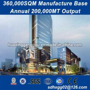Larga vida útil de metal más popular de la estructura del edificio