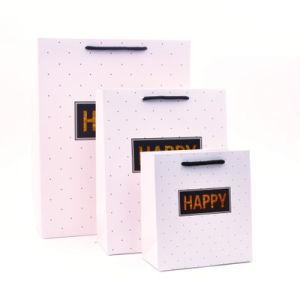 方法印刷および低価格のパッキングギフトの紙袋
