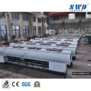 Conductos eléctricos CPVC de agua de plástico de la producción de la línea de extrusión de tubo de UPVC