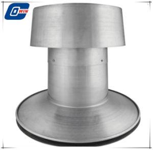 Het ronde Ventilator van het Dak van de Macht van het Zonnepaneel van de Basis op Vlak Dak