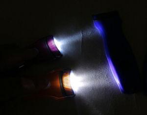Популярных рекламных подарков оптовая торговля привела ПВХ цепочки ключей для детектора