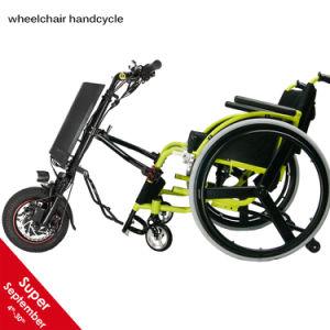 Gehechtheid van Handbike van de Rolstoel van de Opschorting van Cnebikes de Elektrische voor Rolstoel Handcycle