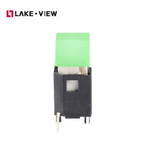 卸し売り停止押しボタンによって照らされる電気スイッチ