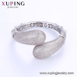 La moda Brazalete de plata de gran lujo con cordón de Shell