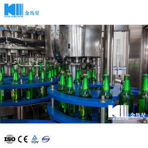 La fabbrica fornisce la macchina di rifornimento in bottiglia plastica di vetro della birra dell'animale domestico 3 in-1