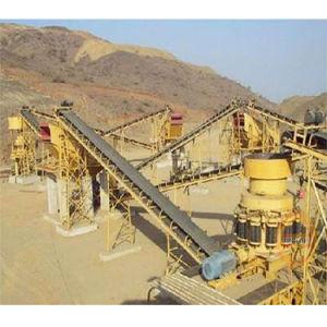 Sabbia del frantoio per pietre che fa riga dalla fabbrica della Cina