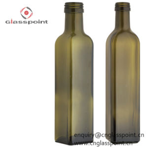 De in het groot Olijfolie van de Fles van het Glas van 750ml 75cl Marasca