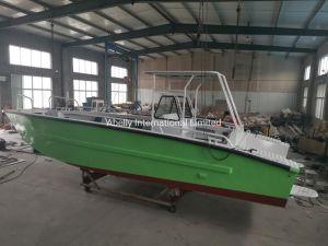 7,5 m todo de alumínio Wedled Desembarque Barco de recreio