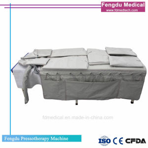 3 en 1 linfático Presoterapia cuerpo portátil dispositivo adelgazamiento