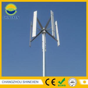 500W 12V/24V do eixo vertical da turbina eólica