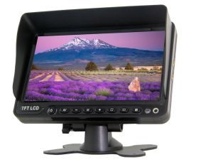 1 DIN HDMI автомобильный монитор 4.3-дюймовый жидкокристаллический монитор TFT широкоэкранный монитор с тире, DC9V-36V