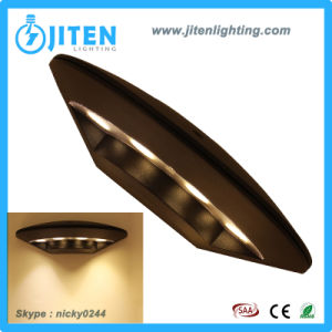 Diseño ovalado 12W LED de alta potencia de la luz de la pared exterior