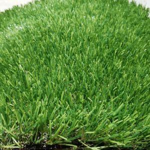 erba artificiale di colore verde di 15mm per l'abbellimento del tetto