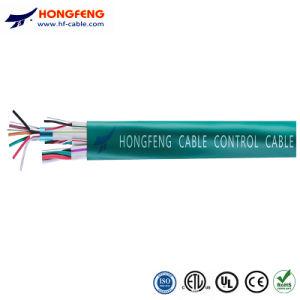 Los núcleos de 4 núcleos 8 Cable de control de varios núcleos