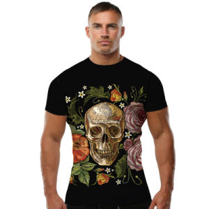 maglietta su ordinazione di sport del commercio all'ingrosso della stampatrice della maglietta 3D