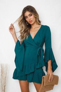 Mesdames Cute robe en mousseline de mode d'été