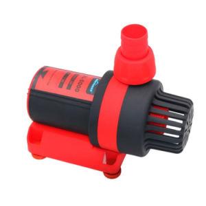 DC 24V 변하기 쉬운 주파수 마이크로 물 수족관 펌프는 잠수할 수 있는 중간 압력 8000L/H 흐른다
