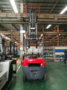 de Vorkheftruck van LPG van de Mast van de Container 3000kg 3500kg