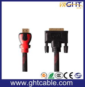 1080P/2160p HDMI zum DVI Kabel mit äußerer Einfassungs-Umhüllung