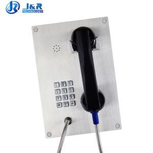 preço de fábrica de emergência por telefone SIP de controle de volume do telefone do banco à prova de intempéries