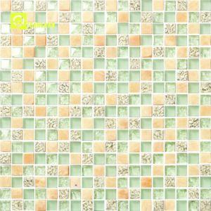 2018 mattonelle di mosaico di cristallo del metallo della stanza da bagno calda di vendita