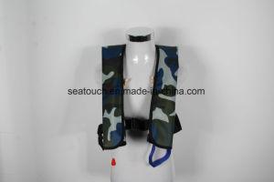 Nuevo diseño resistente al agua marina Chaleco salvavidas inflables de emergencia