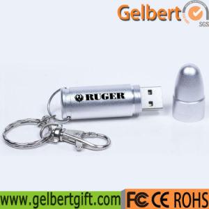 Los Fans del Ejército personalizado Shell Bala Metal unidades USB 64 GB.