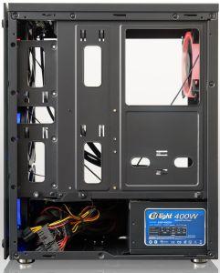 La cassa del PC del calcolatore del nuovo modello con la striscia di RGB e la parete laterale Windows acrilico, USB3.0