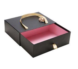 personalizado papel cartão embalagem caixa de lenço de seda de caixa com fitas impressoras multifunções