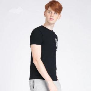 Pubblicità resa personale stampata su ordinazione della maglietta del Mens di marchio di disegno delle magliette