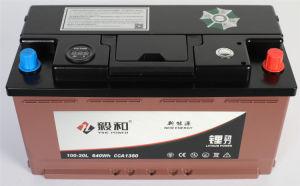 batteria 100ah 100-20L di arresto di inizio dell'automobile del litio 12V