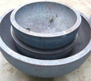 Protezioni ellittiche servite dell'estremità del tubo della testa del serbatoio capo