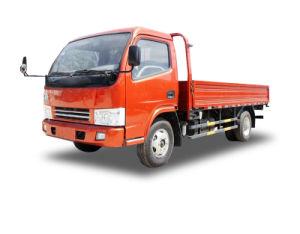 4x2 chariot à plat de 3 tonnes de fret avec 102 Moteur Isuzu HP